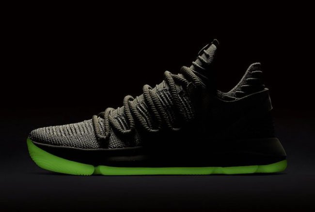 NikeLab KD 10 Olive Glow in the Dark