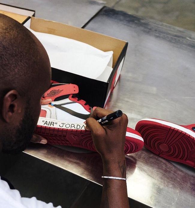 OFF-WHITE Air Jordan 1 Michael Jordan