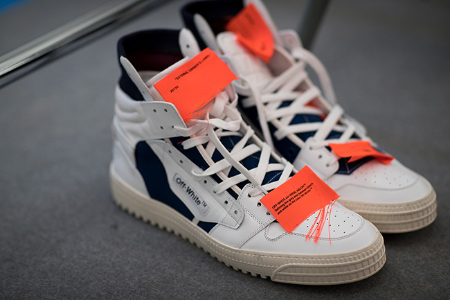 OFF-WHITE Off Court High Tops