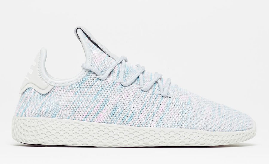 Pharrell adidas Tennis Hu Light Blue BY2671