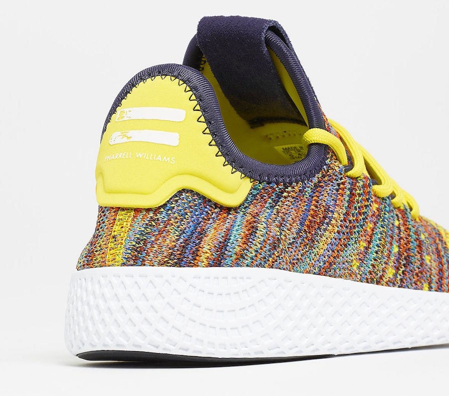 Pharrell adidas Tennis Hu Multicolor BY2673