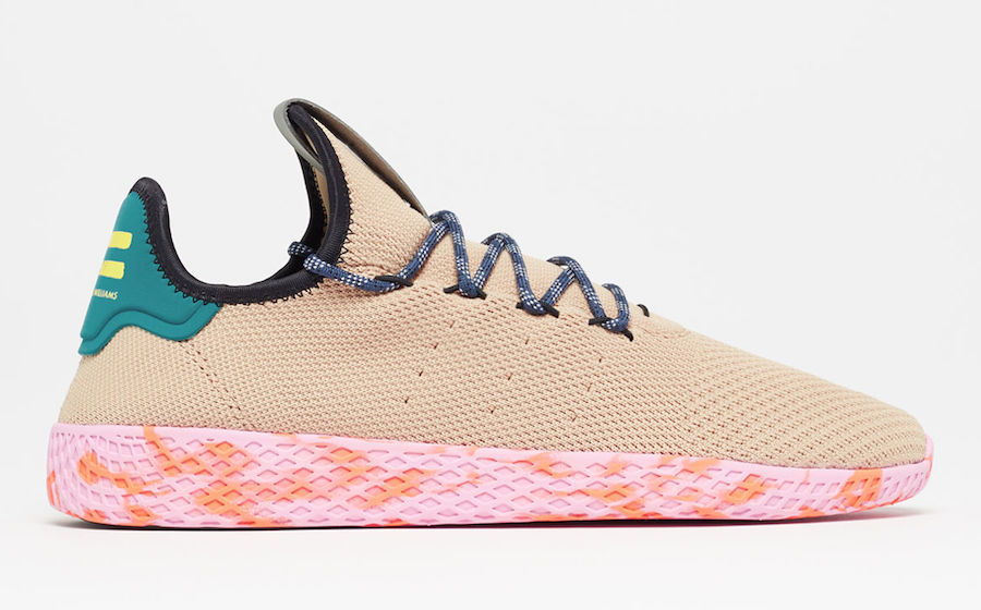 Pharrell adidas Tennis Hu Tan BY2672
