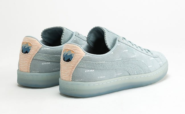 Puma Pink Dolphin Suede V2 Collection