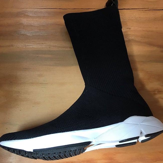 Reebok Sock Runner UltraKnit Black White