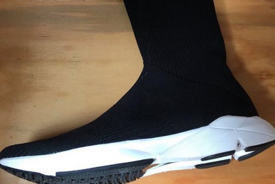 Reebok Sock Runner UltraKnit Black White