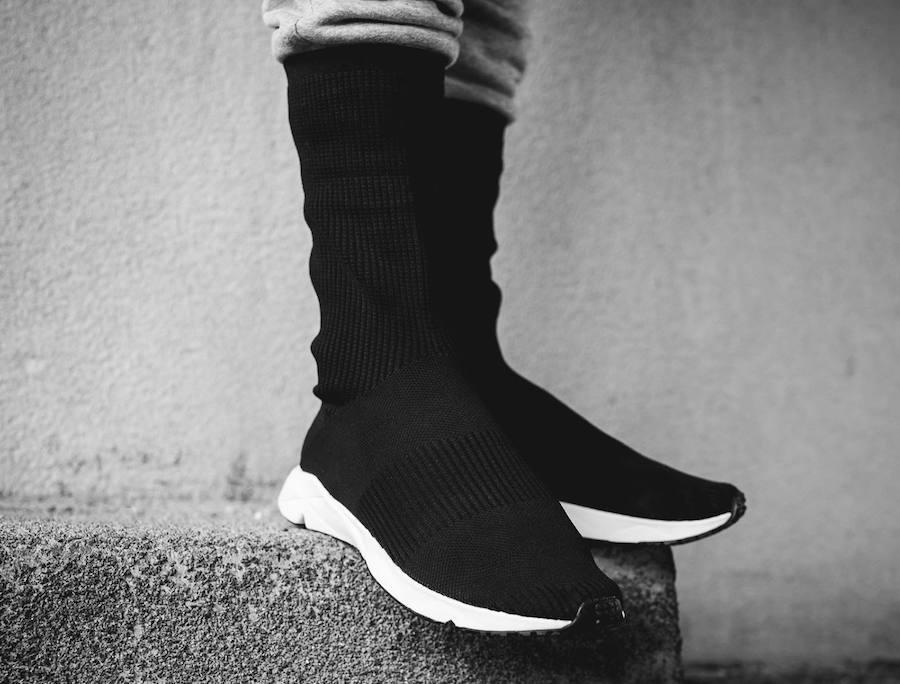7dc209d19513 Reebok Sock Runner UltraKnit Black White Release Date ...