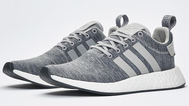 Sneakersnstuff adidas NMD R2 Grey Melange Pack