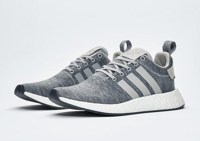 Sneakersnstuff x adidas NMD R2 Grey Melange Pack   SneakerFiles