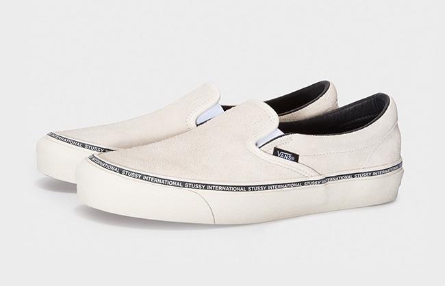 Stussy Vans Classic Slip-On