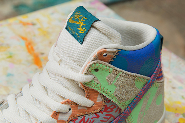 Thomas Campbell x Nike SB Dunk High