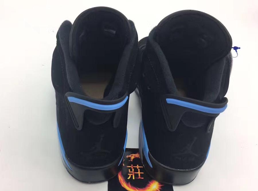 Air Jordan 6 UNC Black University Blue 384664-006 Release Date ... 6aaa14502