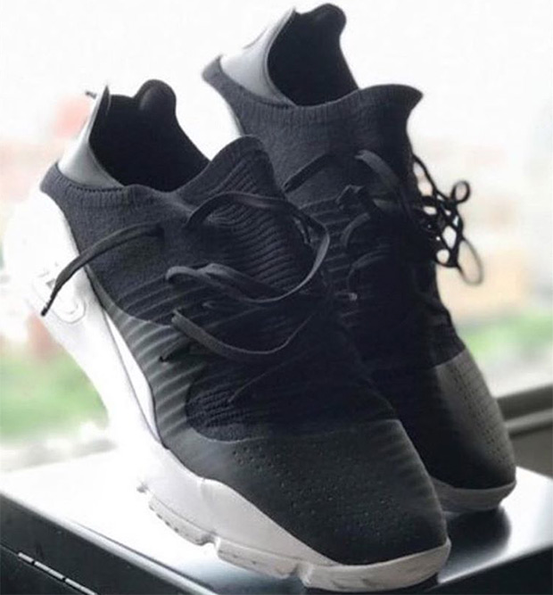 Under Armour Curry 4 Low Black White