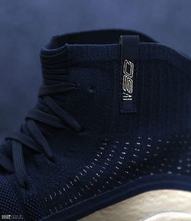 Under Armour Curry 4 Parade Gold Black
