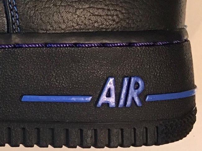 VLONE Nike Air Force 1 Black Blue
