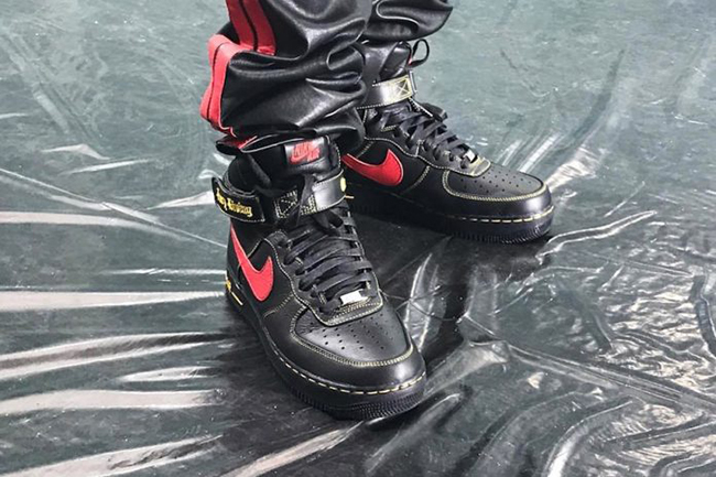 New VLONE x Nike Air Force 1 High Colorways Spotted in Paris