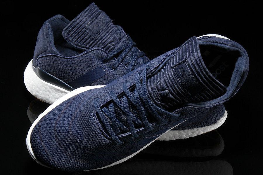 adidas Busenitz Pure Boost Primeknit Collegiate Navy