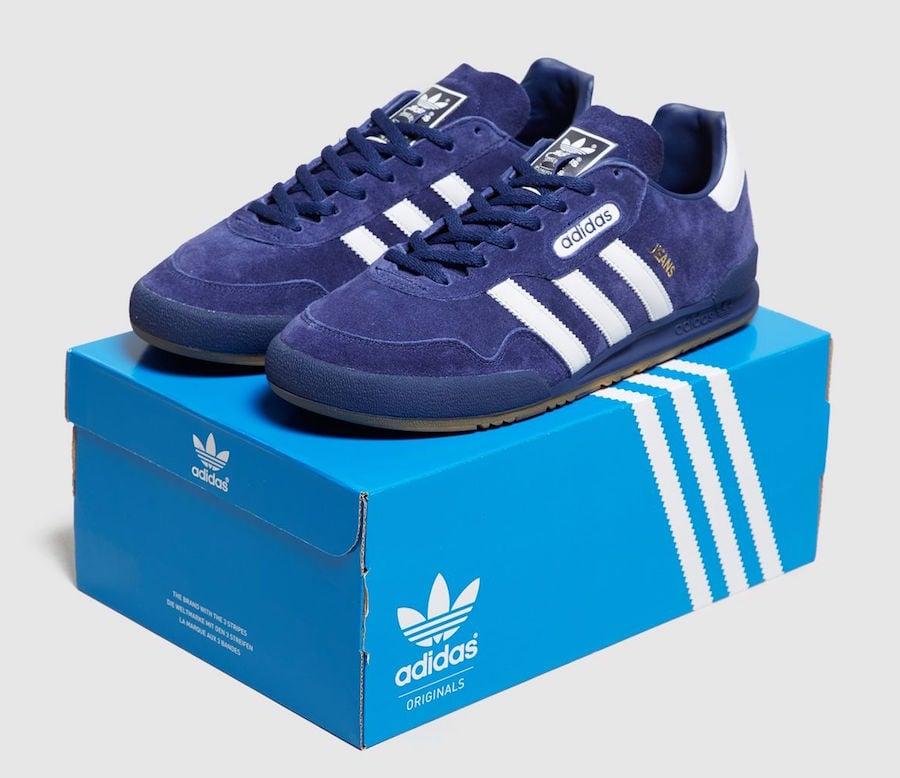 adidas Jeans Super Blue Suede size Exclusive