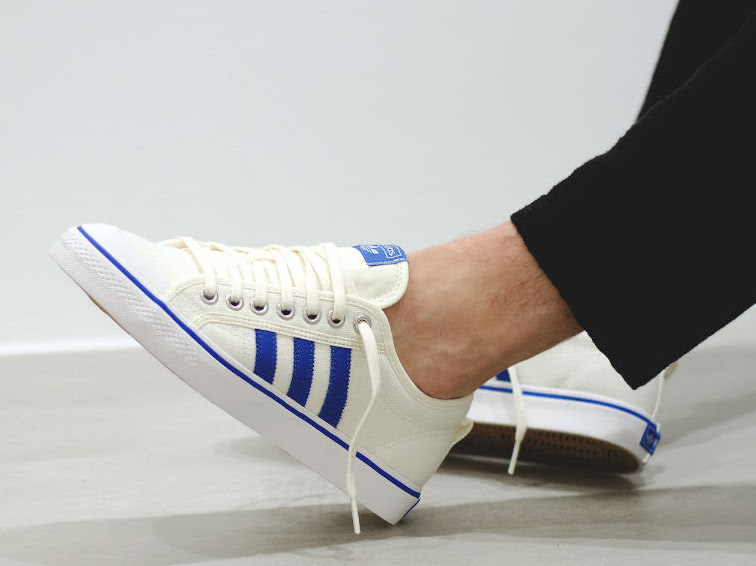adidas Nizza White Blue Gum