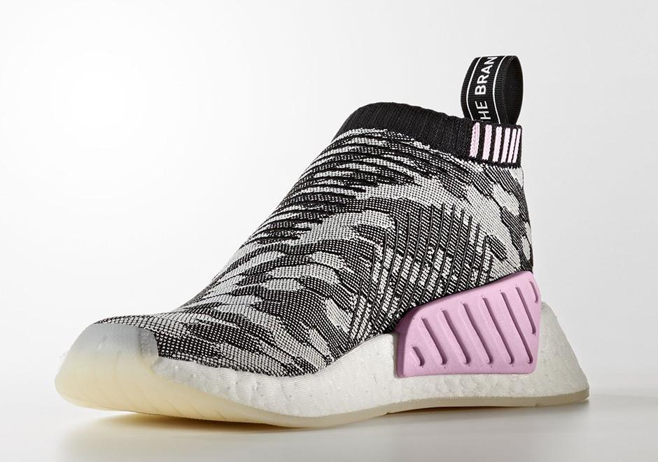 adidas NMD CS2 Black White Pink BY9312