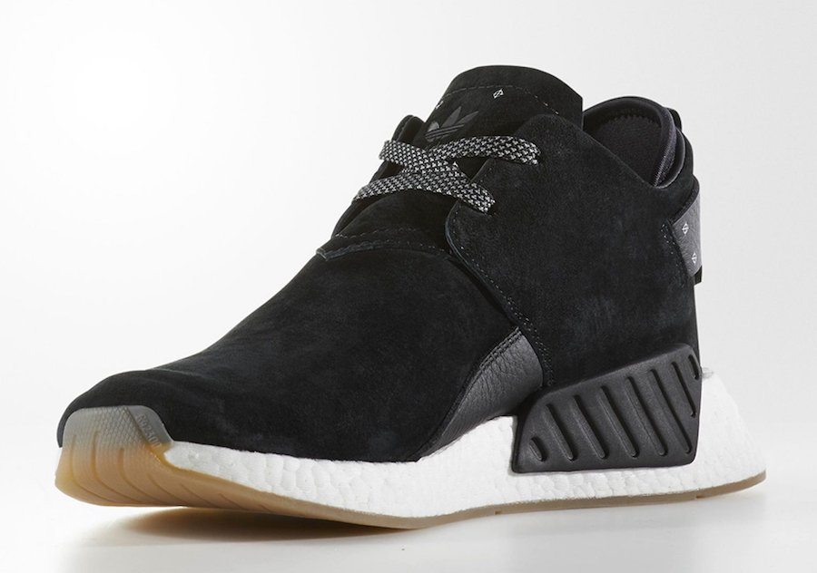 adidas NMD CS2 Suede Black BY3011