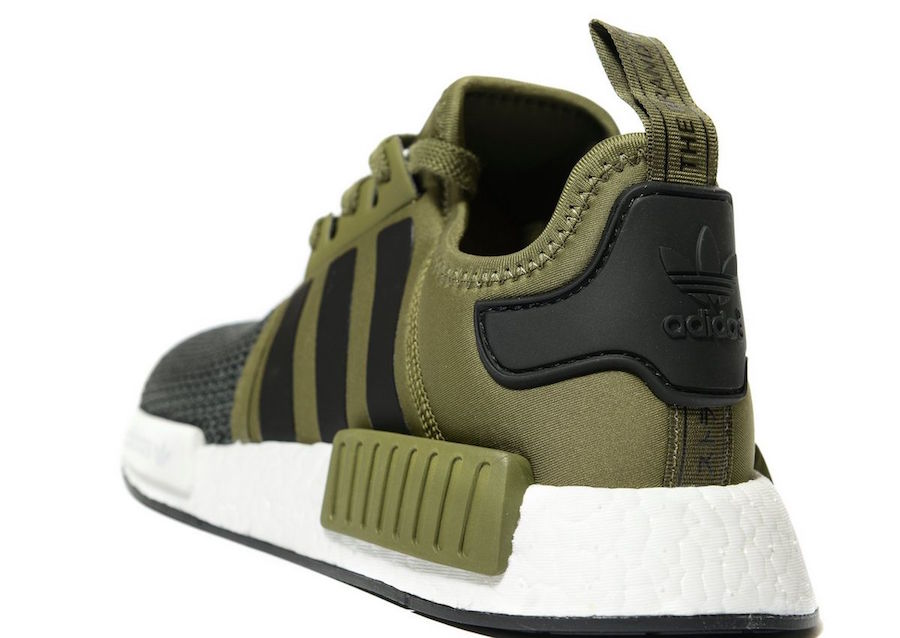 brand new a21cb 3eec8 Adidas Nmd R1 Olive Green kenmore-cleaning.co.uk