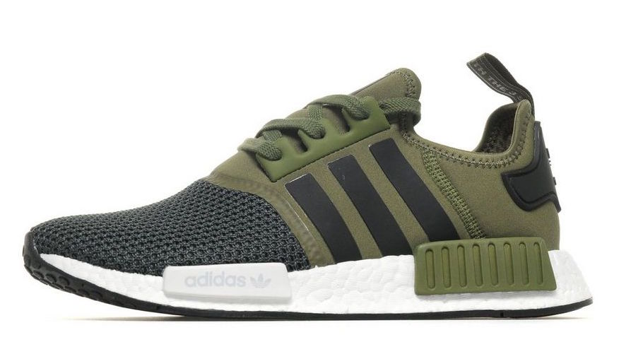 adidas NMD R1 Olive Green Mesh Toe