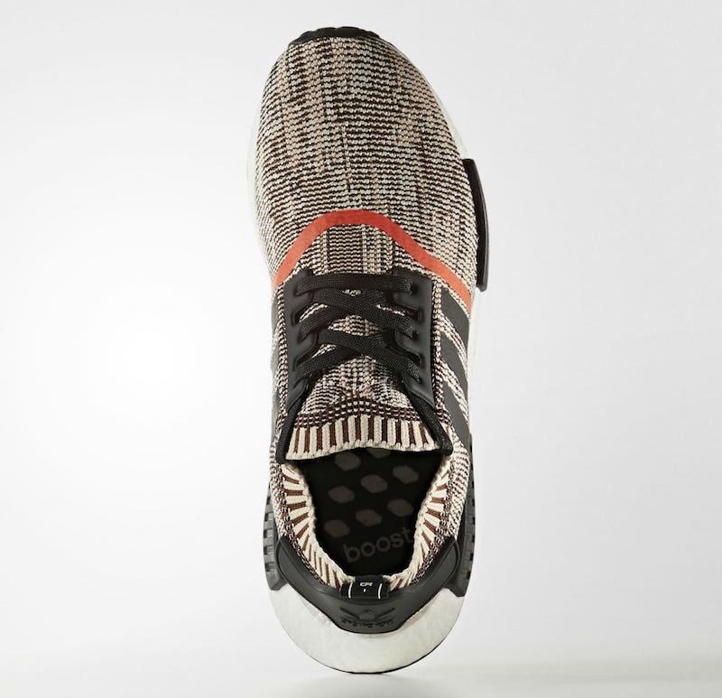 adidas NMD R1 Primeknit Black Orange