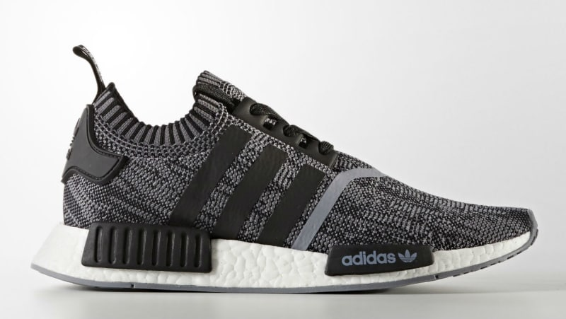 New adidas NMD R1 Primeknit in Black and White via Brian Betschart