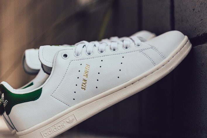 adidas Stan Smith OG Tumbled Leather White Green