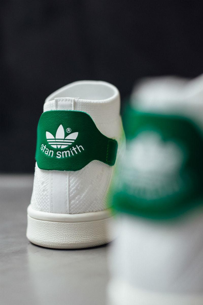 adidas Stan Smith Sock Primeknit OG White Green