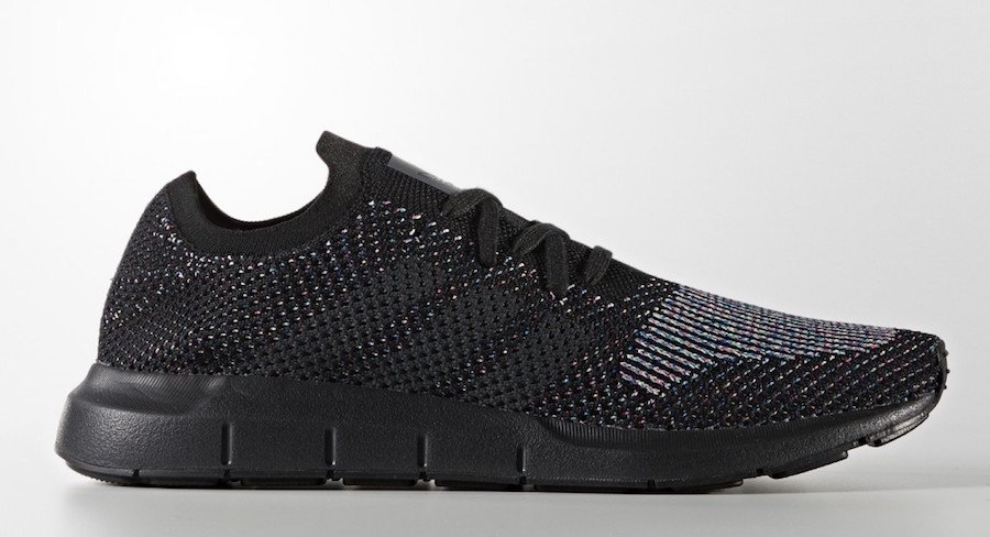 adidas Swift Run Primeknit Black Multicolor