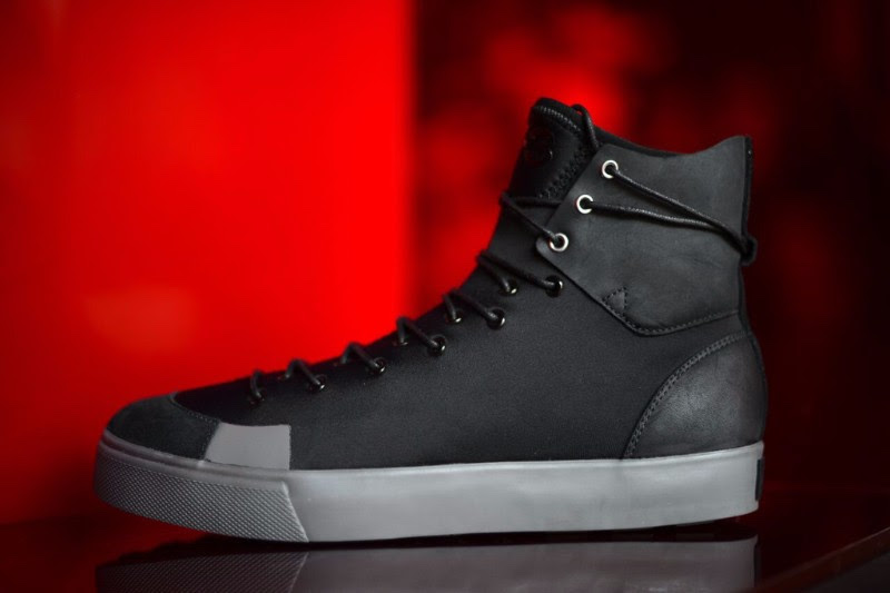 fb1d6e14a1c4 adidas Y-3 Sen High Top Black Sneaker