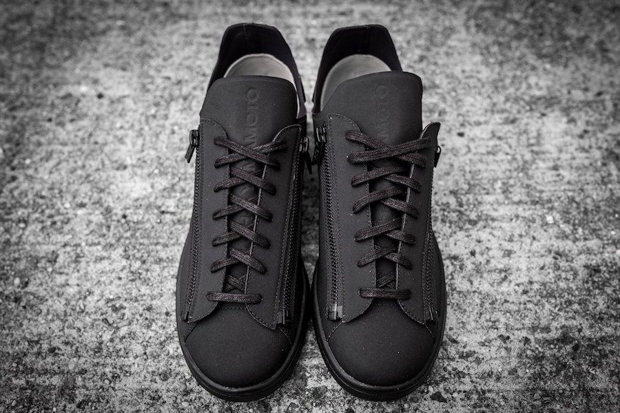 adidas Y-3 Stan Smith Zip Triple Black