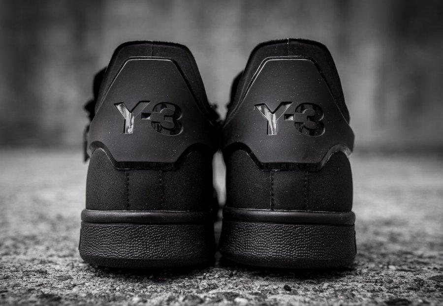 get cheap f7dcf ed021 adidas Y-3 Stan Smith Zip Triple Black CG3207 | SneakerFiles