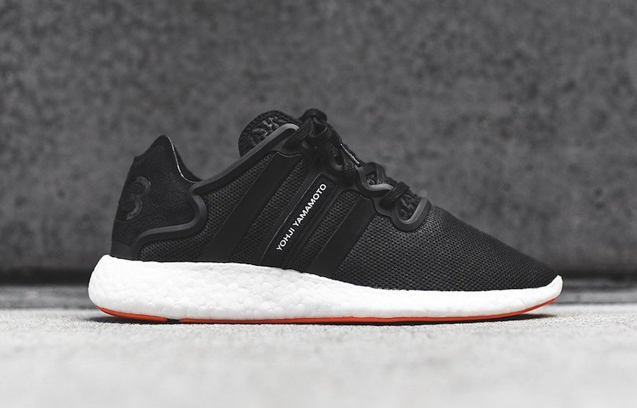 adidas Y-3 Yohji Run Boost Black Gum