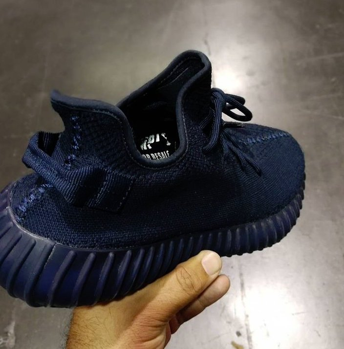 adidas Yeezy Boost 350 V2 Samples Midnight Navy