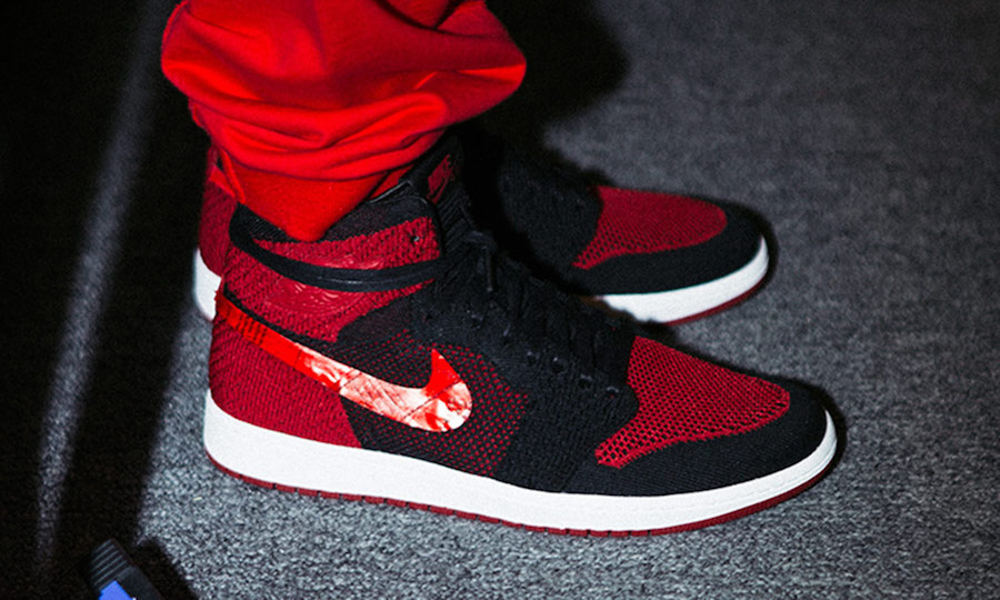 Air Jordan 1 Flyknit Fashion Show