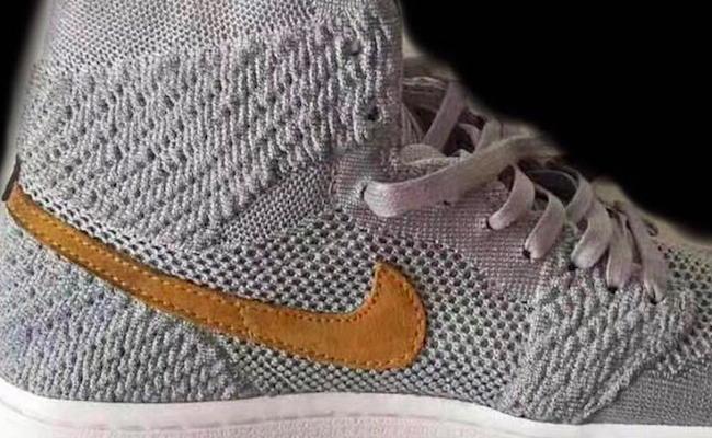 Air Jordan 1 Flyknit Wolf Grey Golden Harvest Release Date