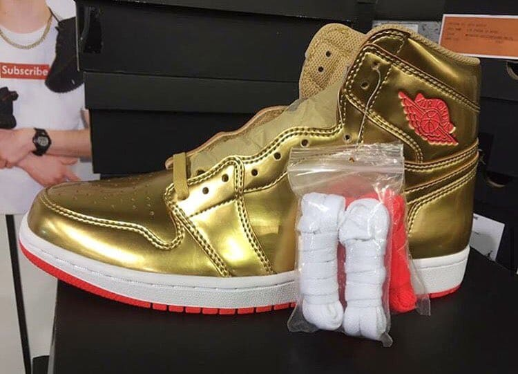 Air Jordan 1 Gold Brigetta Barrett