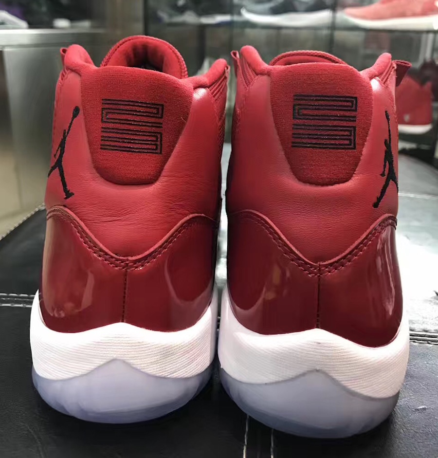 Air Jordan 11 Gym Red Packaging Box