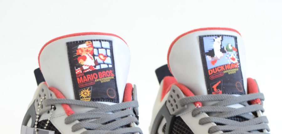 Air Jordan 4 NES Custom Super Marios Bros Duck Hunt
