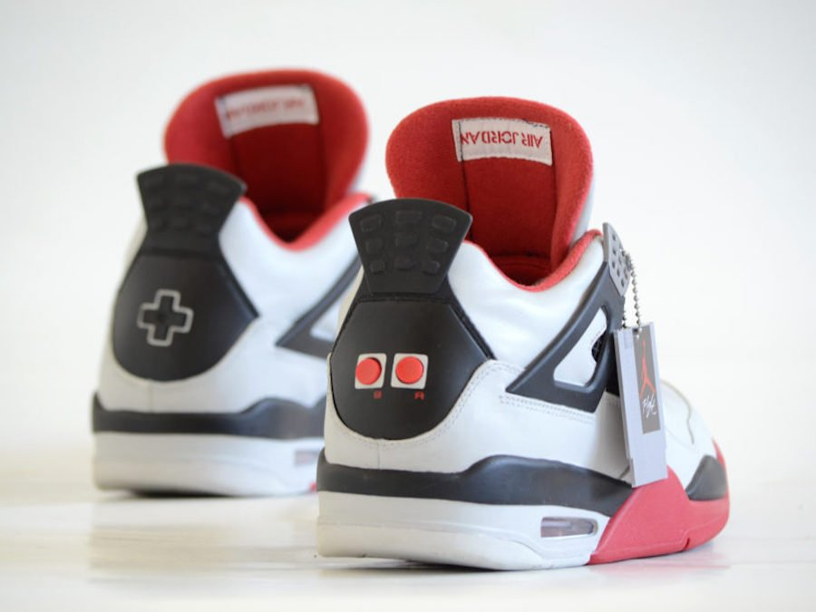 Air Jordan 4 Nes Custom Super Mario Bros Duck Hunt