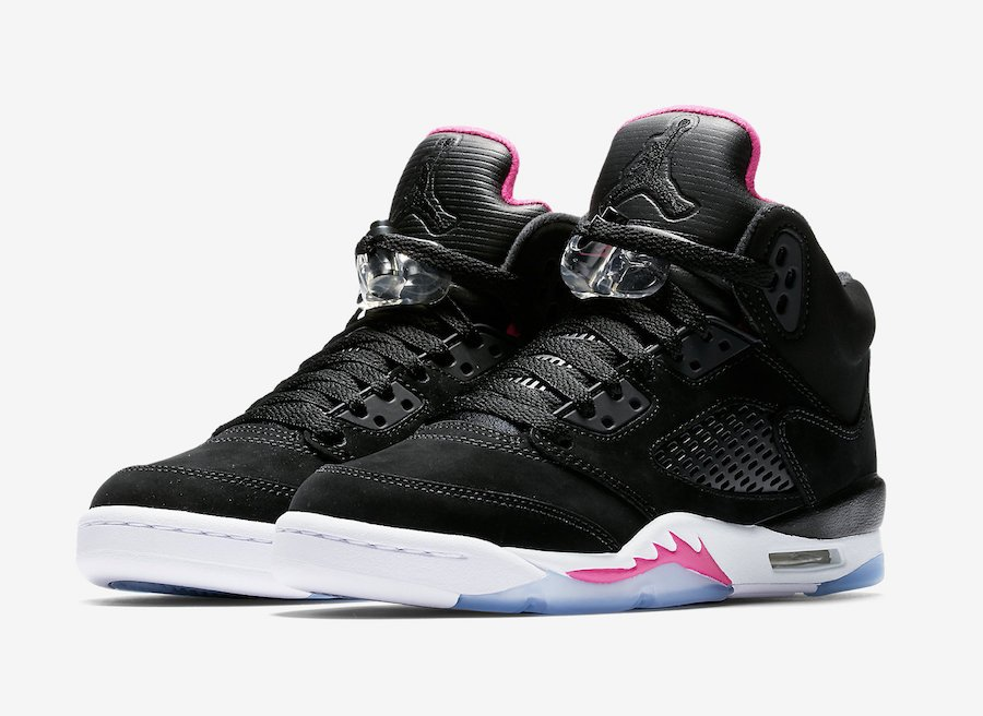 Air Jordan 5 GS Deadly Pink August 2017