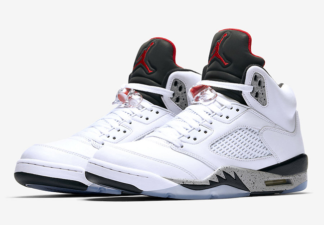 Air Jordan 5 White Cement August 2017