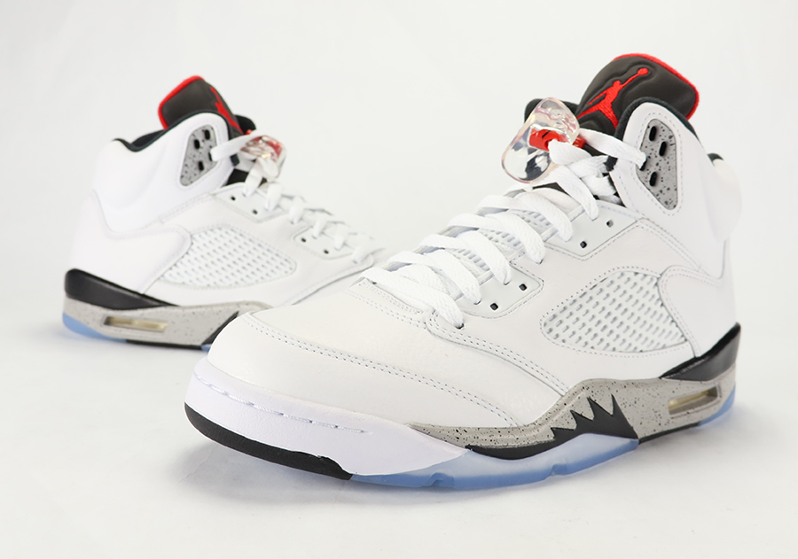 Air Jordan 5 White Cement Review On Feet