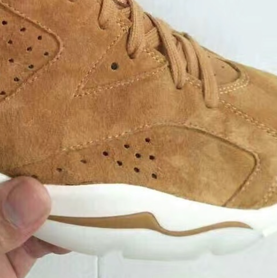 Air Jordan 6 Golden Harvest Wheat 2017