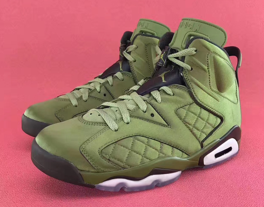 Air Jordan 6 Pinnacle Flight Jacket August 2017