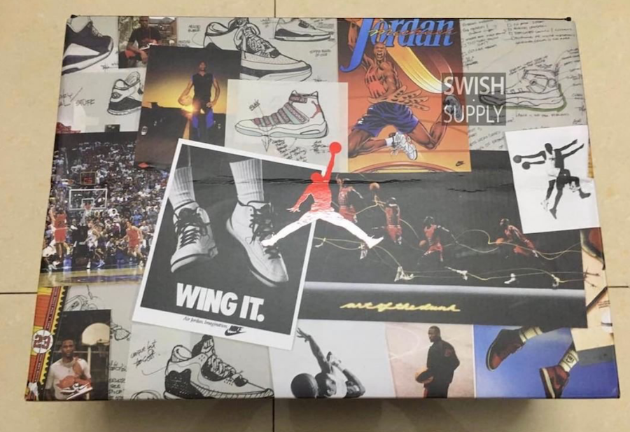 Air Jordan 6 Pinnacle Flight Jacket Box Packaging