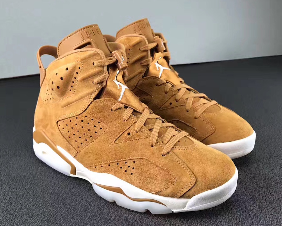Air Jordan 6 Wheat 384664-705 Release Date
