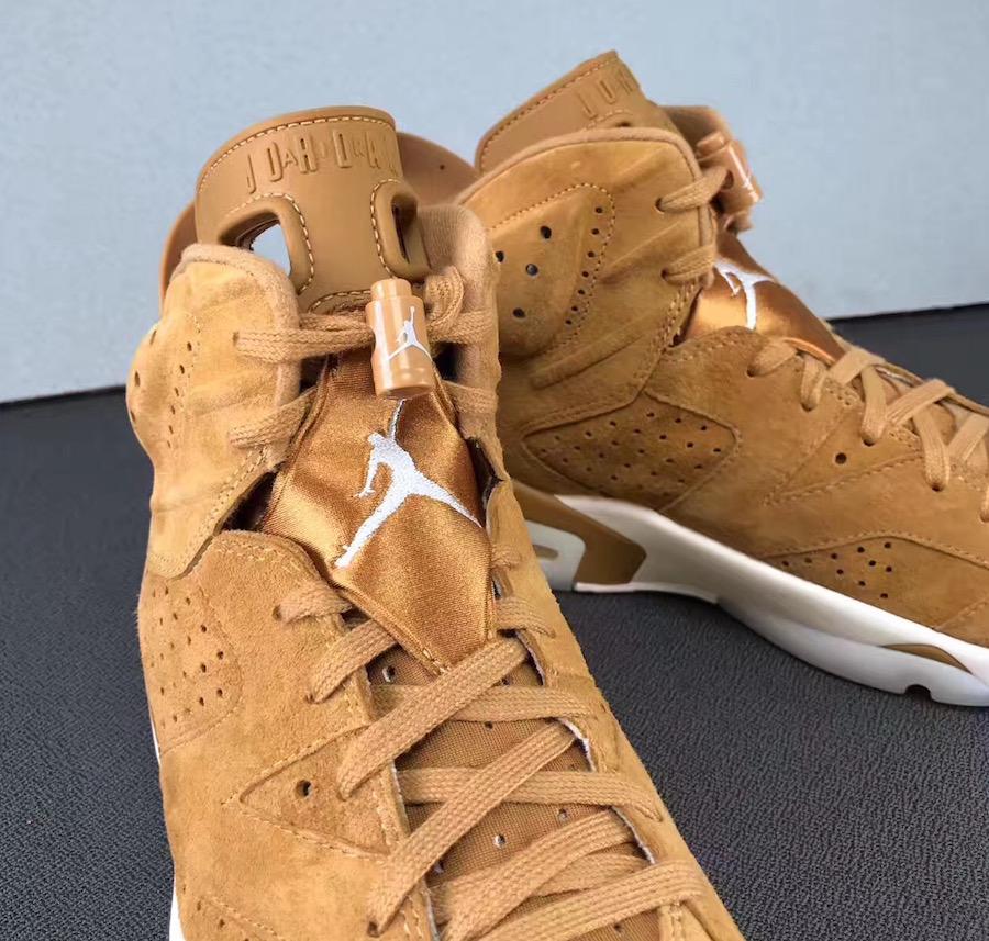 Air Jordan 6 Wheat 384664-705 Release Date